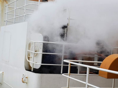Fire breaks out on Coast Guard Cutter Polar Star 650 miles north of Antarctica