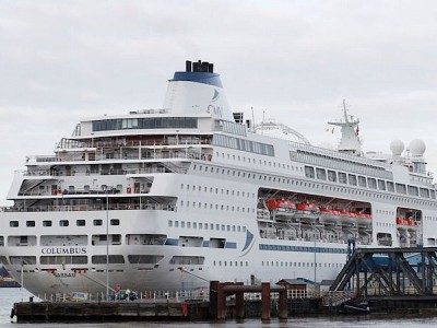 Five cruise ships detained in Essex and Bristol over welfare fears for crew