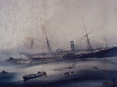The Sinking of the Steamship Arctic