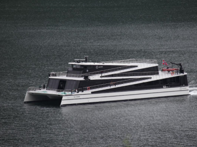 The Fjords welcomes its 2nd all-electric passenger ship