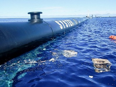 Ocean Cleanup Redeploys Its Plastics Collecting System