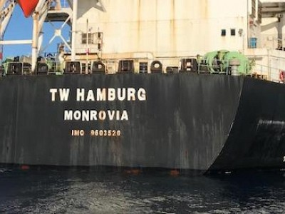 Australia bans bulk carrier TW Hamburg for wage exploitation